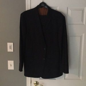Jos A Bank Joseph Solid Navy suit